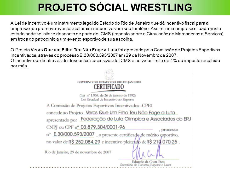 A Lei de Incentivo é um instrumento legal do Estado do Rio de Janeiro que dá incentivo fiscal para a empresa que promove eventos culturais e esportivo