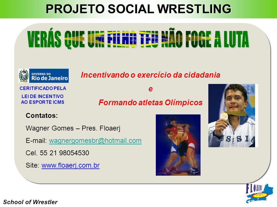 Contatos: Wagner Gomes – Pres. Floaerj E-mail: wagnergomesbr@hotmail.comwagnergomesbr@hotmail.com Cel. 55 21 98054530 Site: www.floaerj.com.br School
