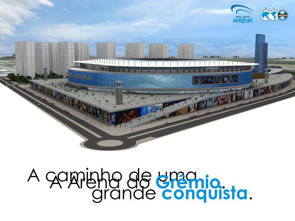 Moderno complexo esportivo, de eventos, empresarial e residencial.