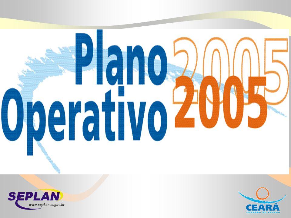 Definição É um instrumento de planejamento operacional Programas, ações, produtos e indicadores presentes no PPA e LOA fazem-se presentes no PO