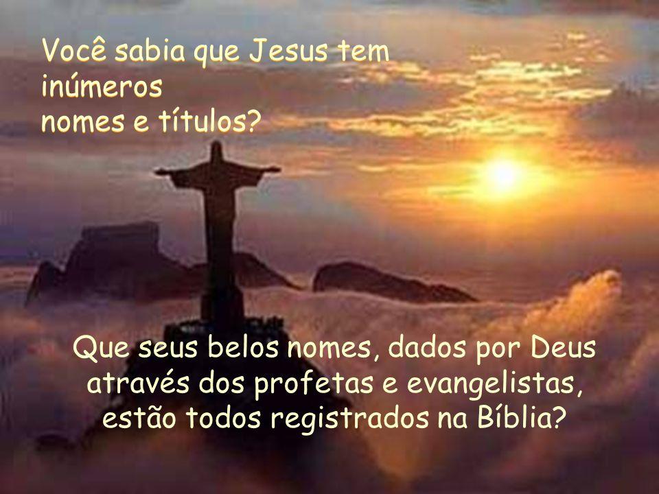 Nessa belíssima escultura que encanta o mundo, está registrado um nome de Jesus inspirado aos homens: Cristo Redentor.