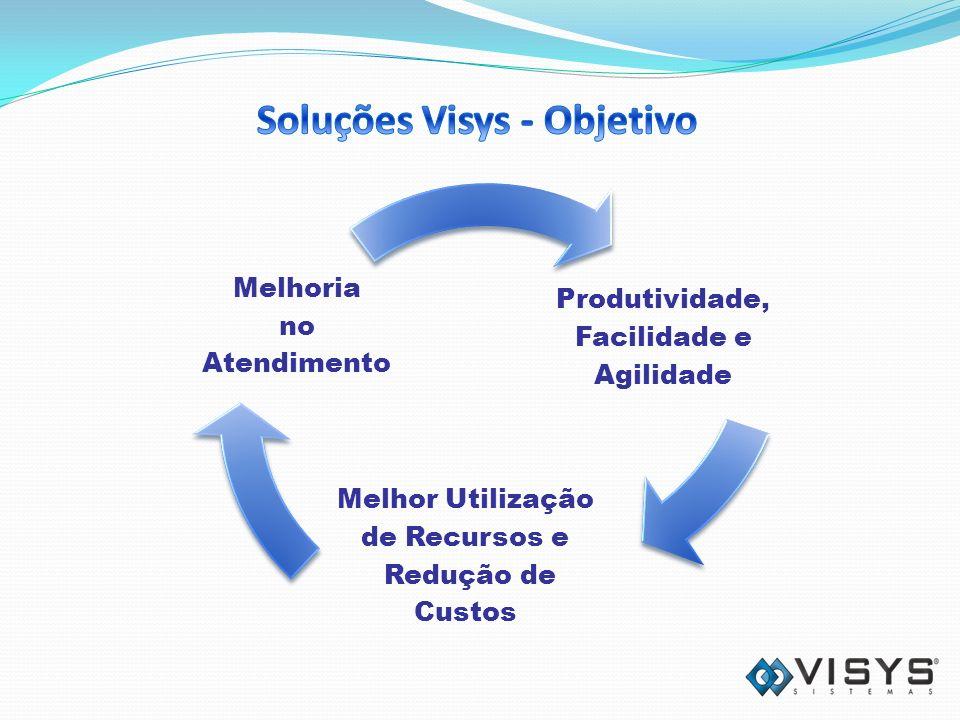 Produtividade, Facilidade e Agilidade Melhor Utilização de Recursos e Redução de Custos Melhoria no Atendimento