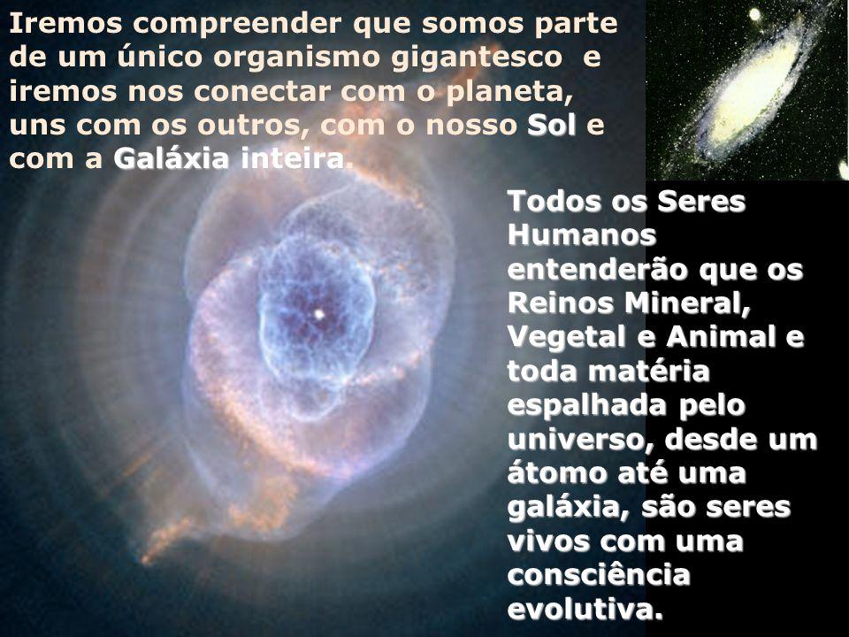 Todas as profecias se destinam a uma mudança de Universo consciência, pois o Universo gera todos esses processos, afim de expandirmos nossa Galáxia Co