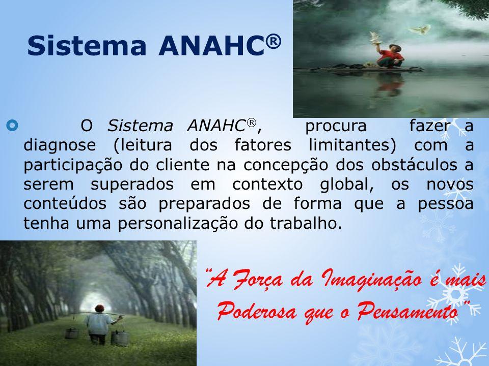 O Sistema ANAHC ®, procura fazer a diagnose (leitura dos fatores limitantes) com a participação do cliente na concepção dos obstáculos a serem superad