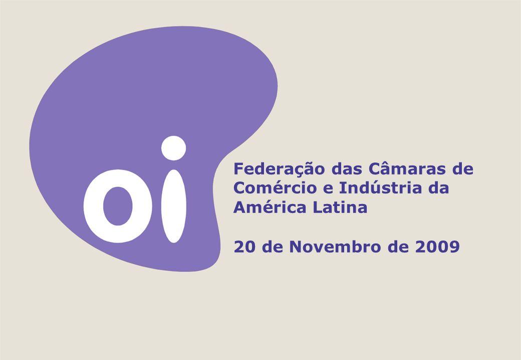 Federação das Câmaras de Comércio e Indústria da América Latina 20 de Novembro de 2009