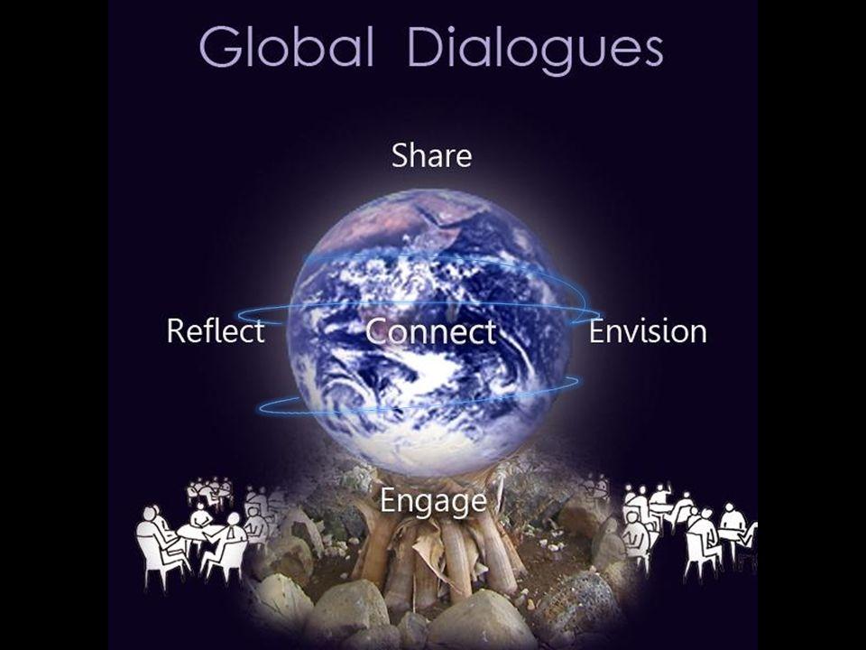 Uma iniciativa global que convida pessoas de todos backgrounds, culturas, idades e posições na sociedade para uma participação significativa através do compartilhar, visionar e co-criar o futuro que queremos.