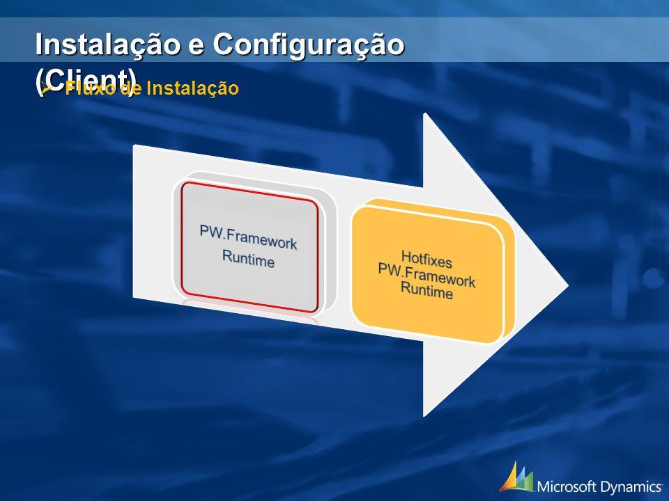 Instalação e Configuração (Client) Fluxo de Instalação