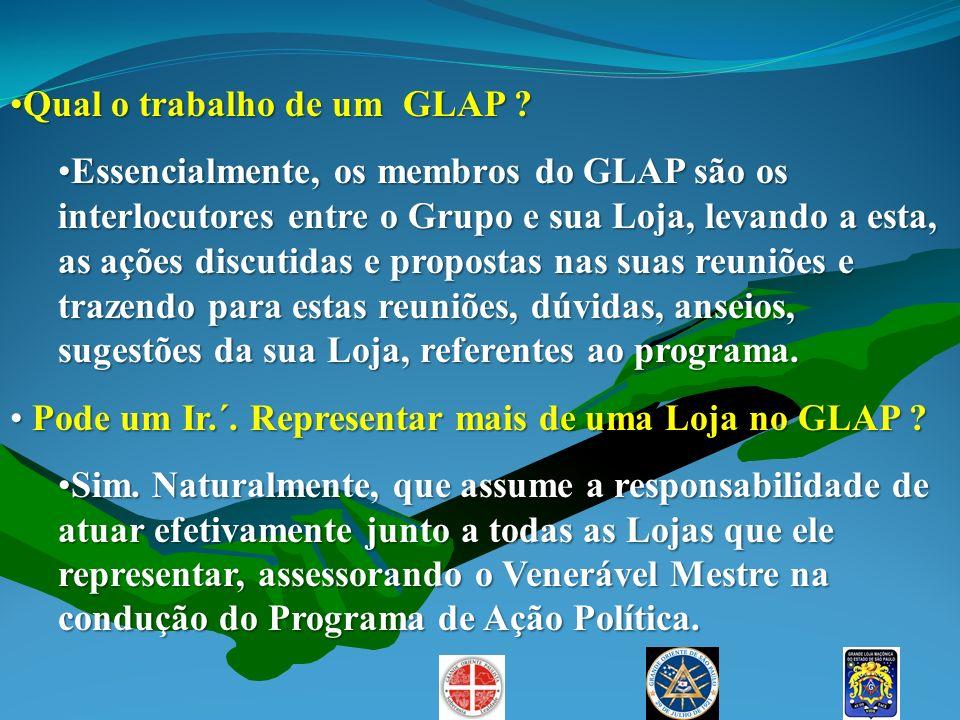 Qual o trabalho de um GLAP ?Qual o trabalho de um GLAP ? Essencialmente, os membros do GLAP são os interlocutores entre o Grupo e sua Loja, levando a