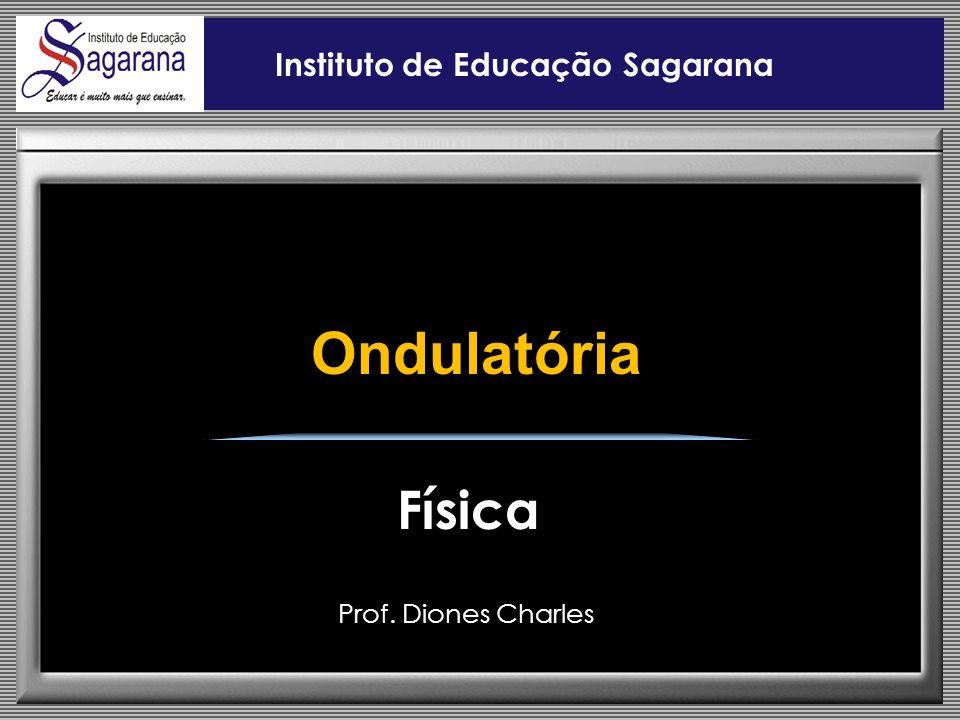 Prof. Diones Charles Instituto de Educação Sagarana Física Ondulatória