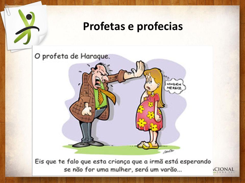 Profetas e profecias Analisemos o que a palavra do Senhor nos diz: Analisemos o que a palavra do Senhor nos diz: Dt.18.21-22 Como conhecerei a palavra que o Senhor não falou a palavra dele se não cumprir, nem suceder, como profetizou, esta é palavra que o Senhor não disse Dt.18.21-22: 21Se disseres no teu coração: Como conhecerei a palavra que o Senhor não falou.