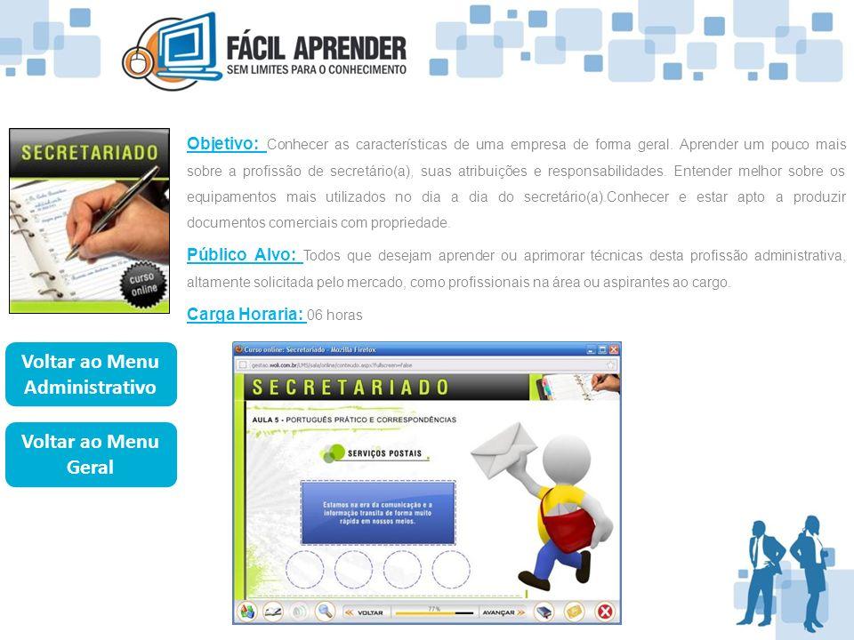 Objetivo: Entender os conceitos e aplicações do telemarketing.