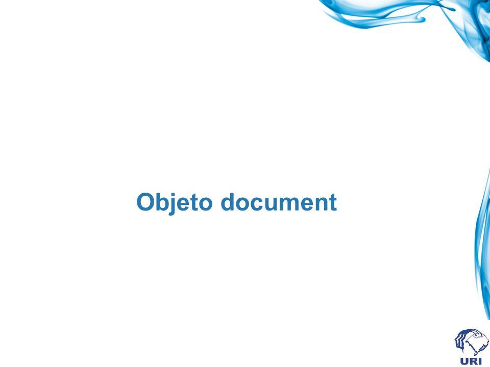 Objeto document