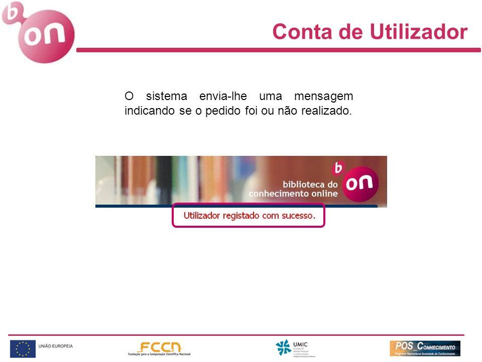 Área Pessoal - Opções Ao selecionar Opções o utilizador tem a possibilidade de definir a forma de visualização dos recursos e dos resultados, bem como, o número de referências apresentadas por página.