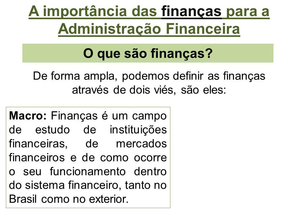 A importância do Planejamento para a Administração Financeira