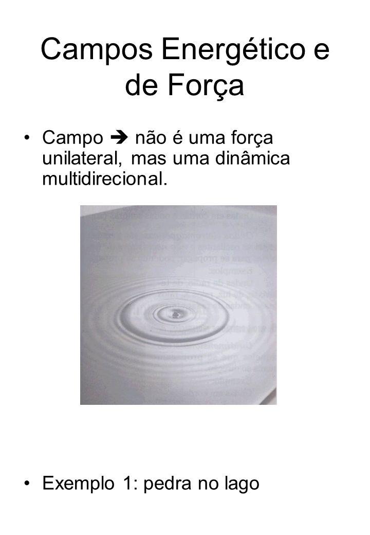 Campos Energético e de Força Campo não é uma força unilateral, mas uma dinâmica multidirecional.