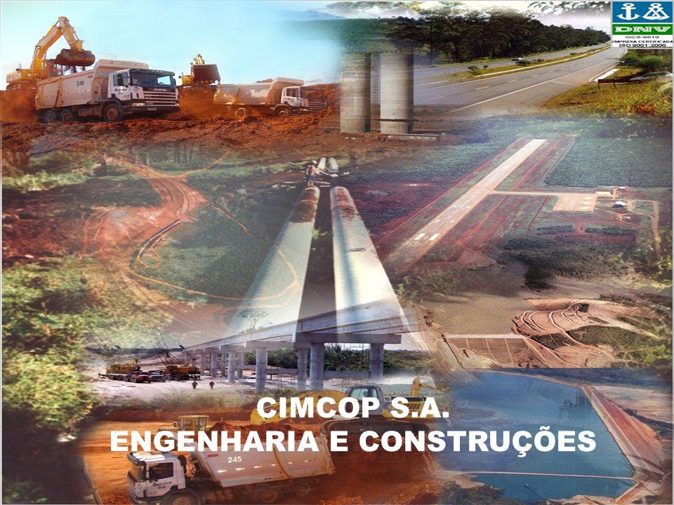 Apresentação Fundada em 01 de março de 1957, a Companhia Mineira de Construções e Pavimentação - CIMCOP, hoje CIMCOP S/A - ENGENHARIA E CONSTRUÇÕES, dedicou-se, inicialmente, a serviços de terraplenagem e, logo, expandiu suas atividades, diversificando-se no campo da construção pesada e da construção civil, atendendo assim às exigências do desenvolvimento do País.