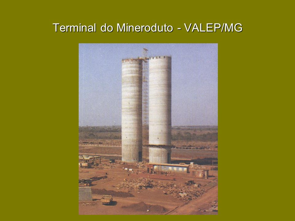 Terminal do Mineroduto - VALEP/MG