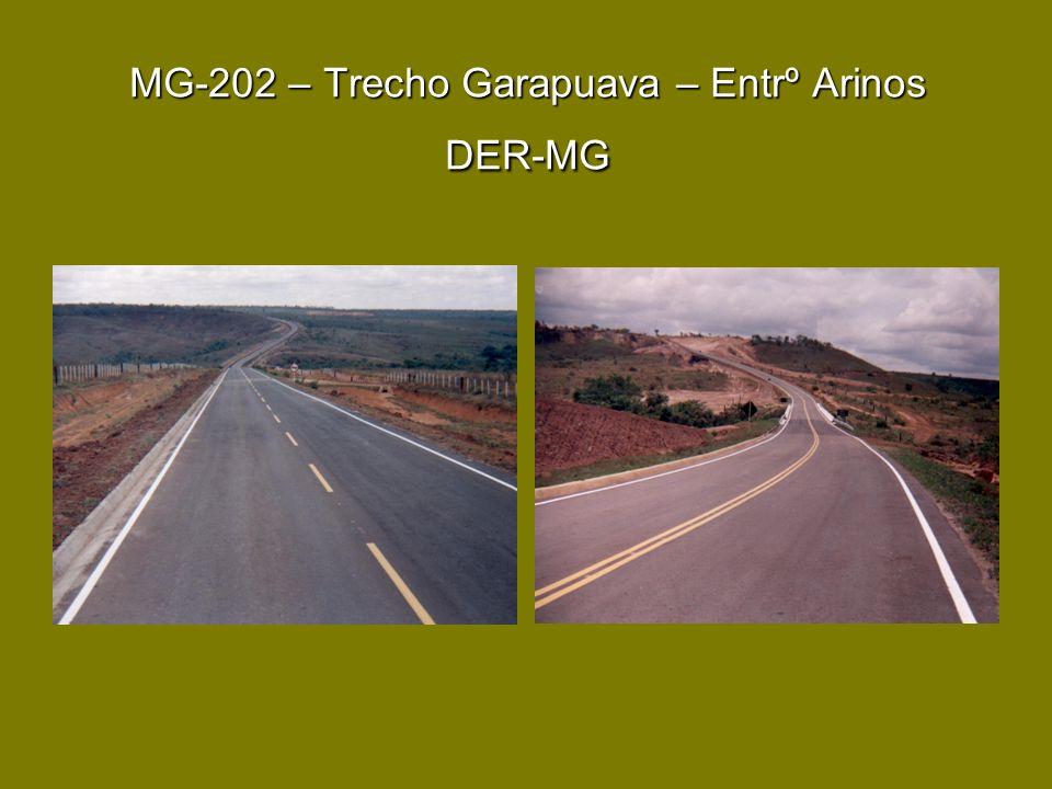 MG-202 – Trecho Garapuava – Entrº Arinos DER-MG