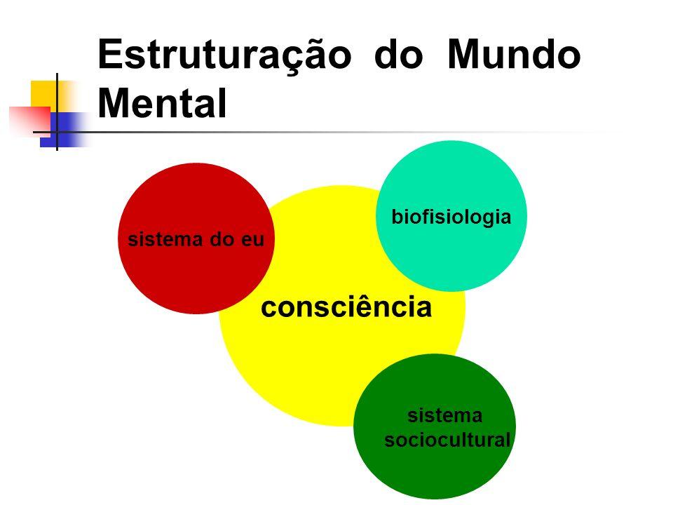 Estruturação do Mundo Mental consciência sistema do eu sistema sociocultural biofisiologia