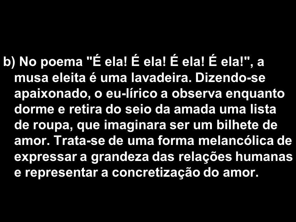 b) No poema