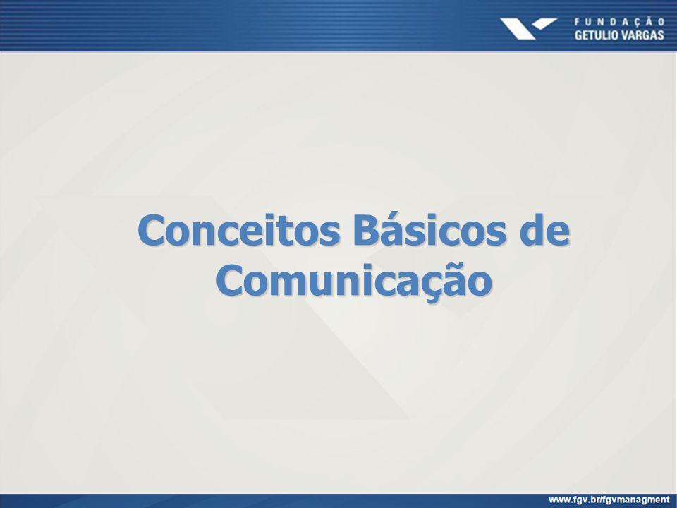 Conceitos Básicos de Comunicação