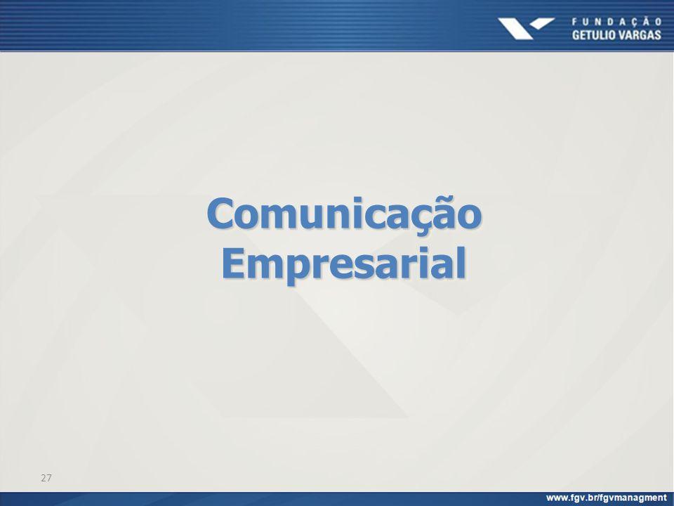 27 Comunicação Empresarial