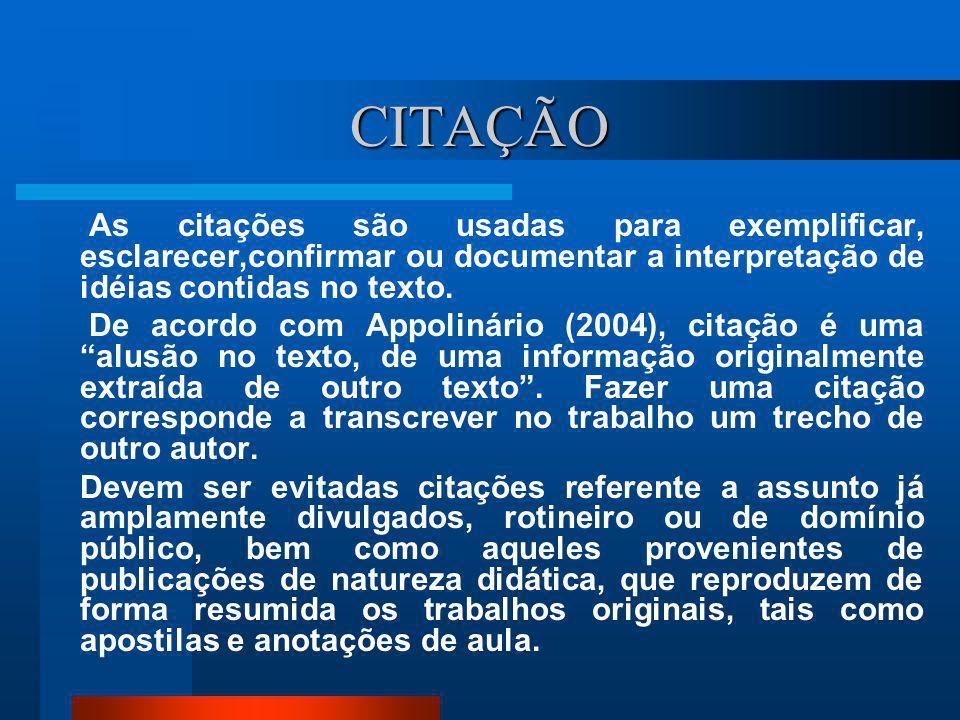1 INTRODUÇÃO Elemento obrigatório. De acordo com Costa (2003:35), nela se diz o que é ou de que trata o trabalho. Deve fornecer uma visão geral do tra