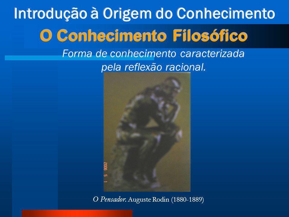 Introdução à Origem do Conhecimento O Conhecimento Mítico O domínio dos deuses (Chalita) O Lacoonte. Escultura em mármore, cópia de um original grego