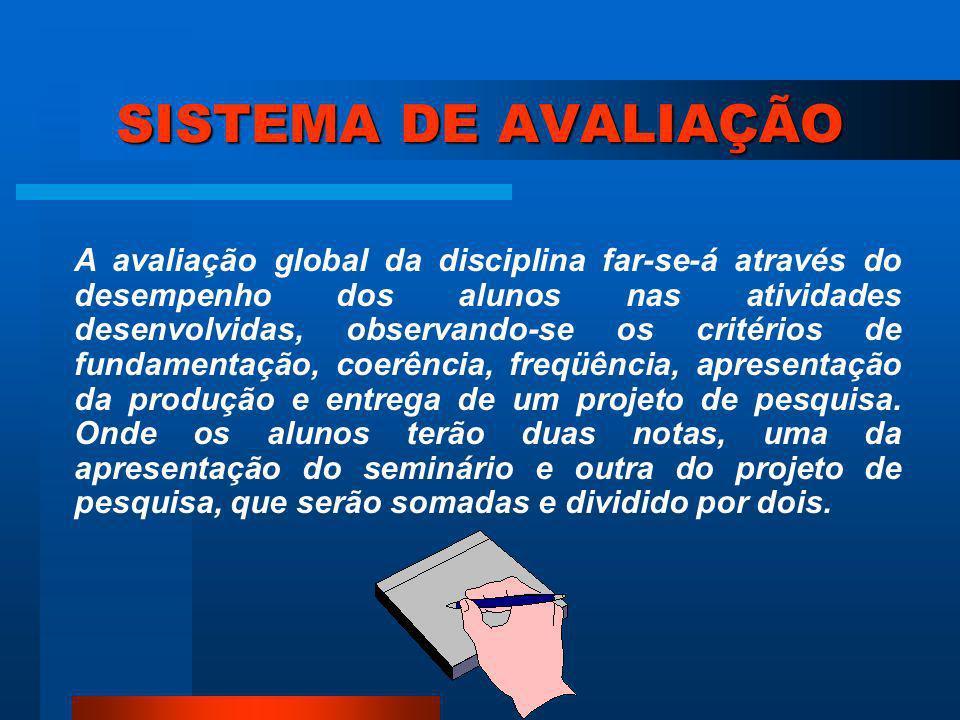SUMÁRIO 1 Introdução 9 2 Metodologia 15 3 Resultados e Discussão 19 4 Conclusões 25 5 Referências 27 6 Bibliografia 30 Anexos 31 Apêndice 35