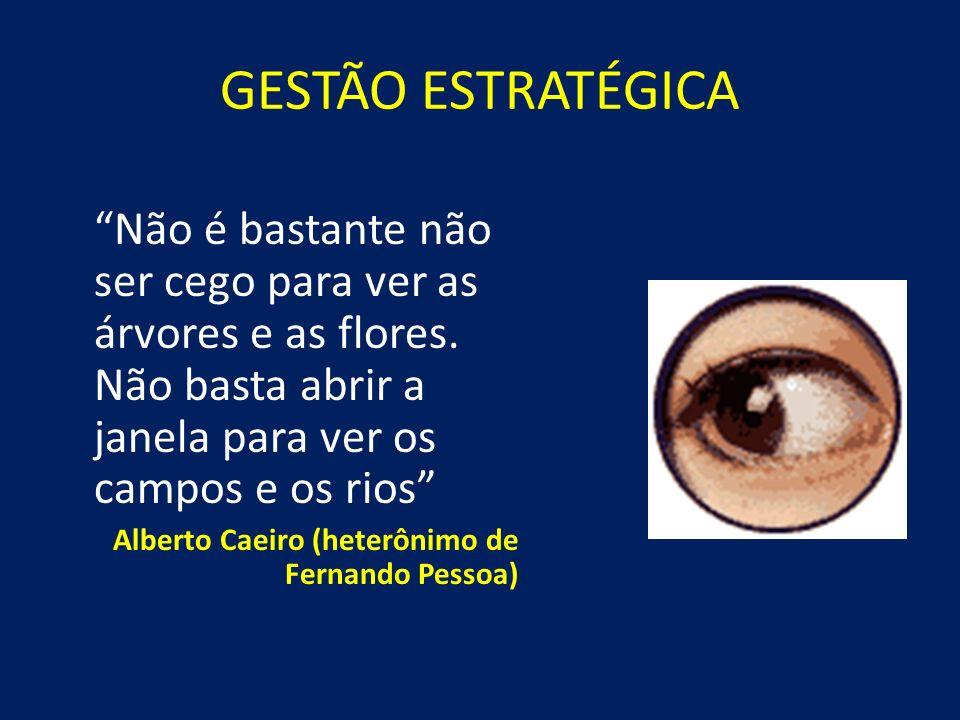 GESTÃO ESTRATÉGICA Desafios Dificuldades de percepção Barreiras mentais Olhar e não ver Falta de visão sistêmica