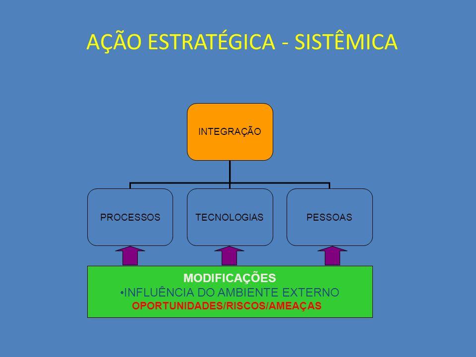 Sistemas Integrados de Gestão 11 A Gestão de Processos em um Novo Ambiente : Integração como Fator de Sobrevivência Alta Competição entre Fornecedores Tomadas de Decisão Instantâneas pelos Clientes O Mercado agora é Mundial Novas Demandas da Sociedade/Tecnologias Gerenciamento e Controles Descentralizados