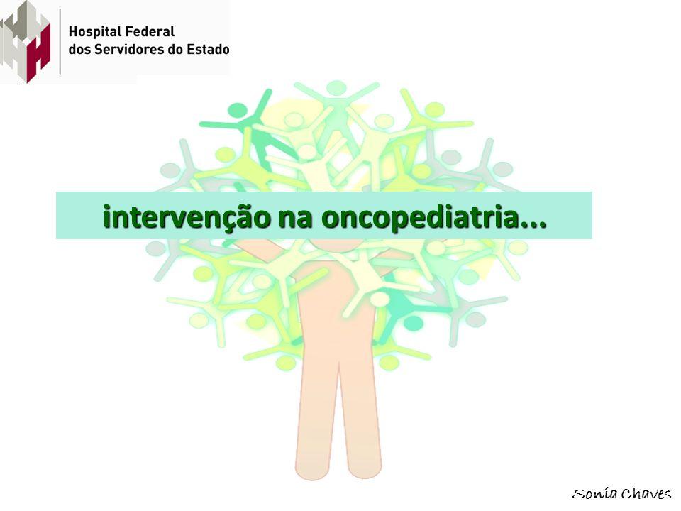 intervenção na oncopediatria...