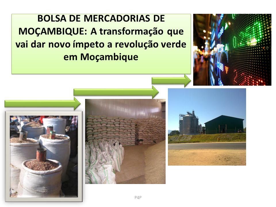 BOLSA DE MERCADORIAS DE MOÇAMBIQUE: A transformação que vai dar novo ímpeto a revolução verde em Moçambique P4P