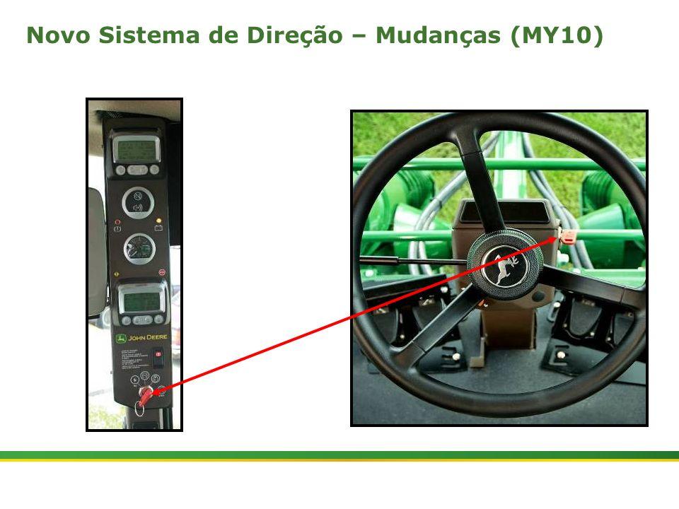 |Colhedora de Cana 3520 & 3522 : Cabine e Plataforma do Operador | Janeiro, 201010 Novo Sistema de Direção – Mudanças (MY10)