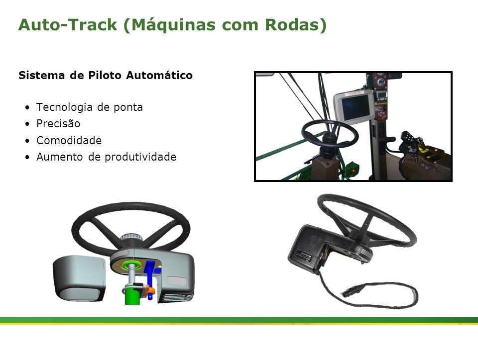 |Colhedora de Cana 3520 & 3522 : Cabine e Plataforma do Operador | Janeiro, 201014 Auto-Track (Máquinas com Rodas) Sistema de Piloto Automático Tecnol