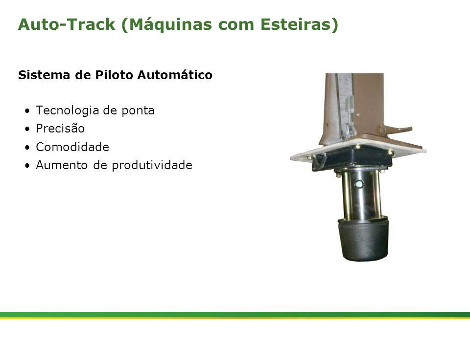 |Colhedora de Cana 3520 & 3522 : Cabine e Plataforma do Operador | Janeiro, 201015 Auto-Track (Máquinas com Esteiras) Sistema de Piloto Automático Tec