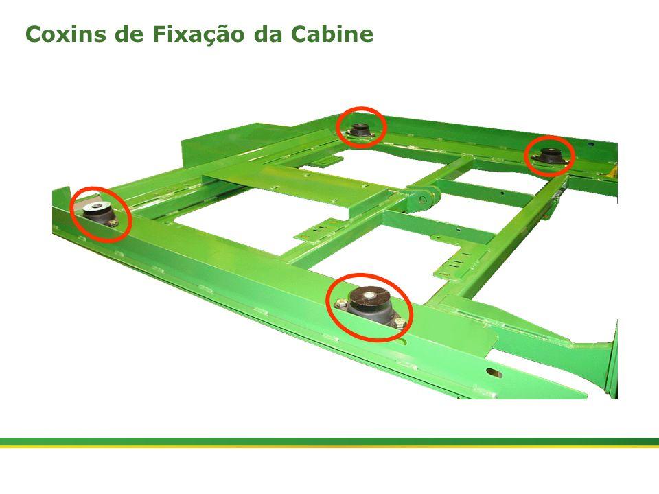 |Colhedora de Cana 3520 & 3522 : Cabine e Plataforma do Operador | Janeiro, 201024 Coxins de Fixação da Cabine