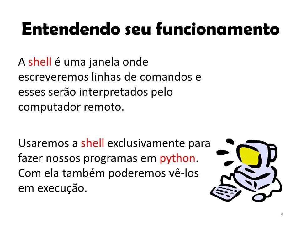 Então essa é a nossa Shell? 4 Sim!