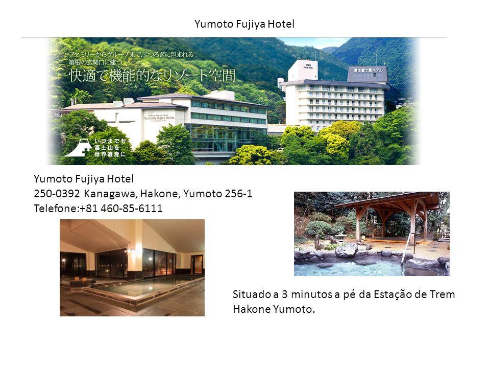 Yumoto Fujiya Hotel 250-0392 Kanagawa, Hakone, Yumoto 256-1 Telefone:+81 460-85-6111 Situado a 3 minutos a pé da Estação de Trem Hakone Yumoto.