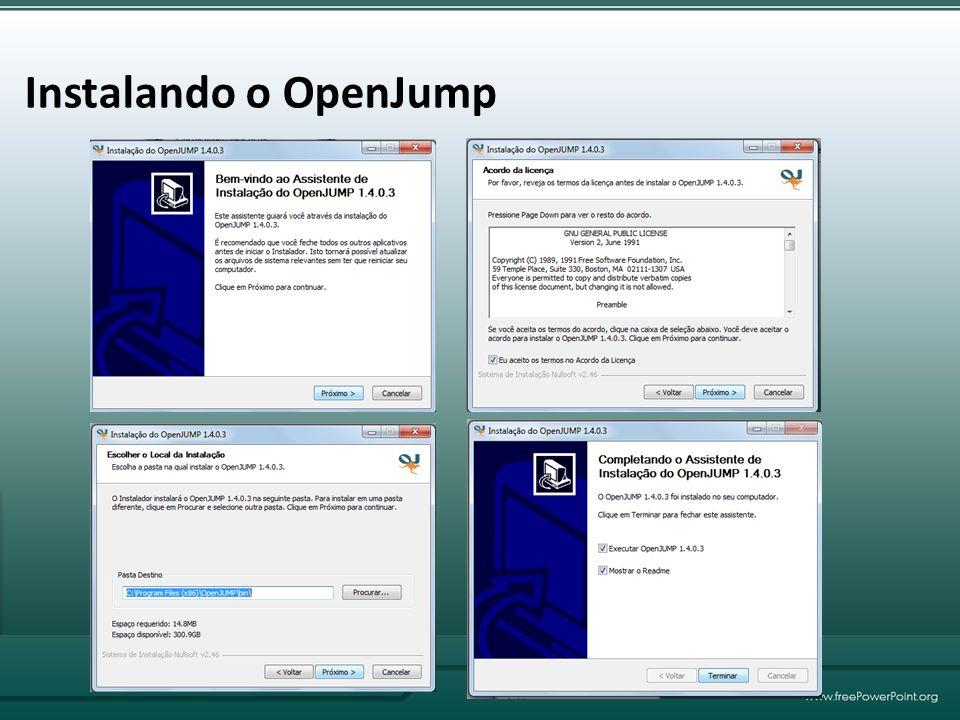 Instalando o OpenJump