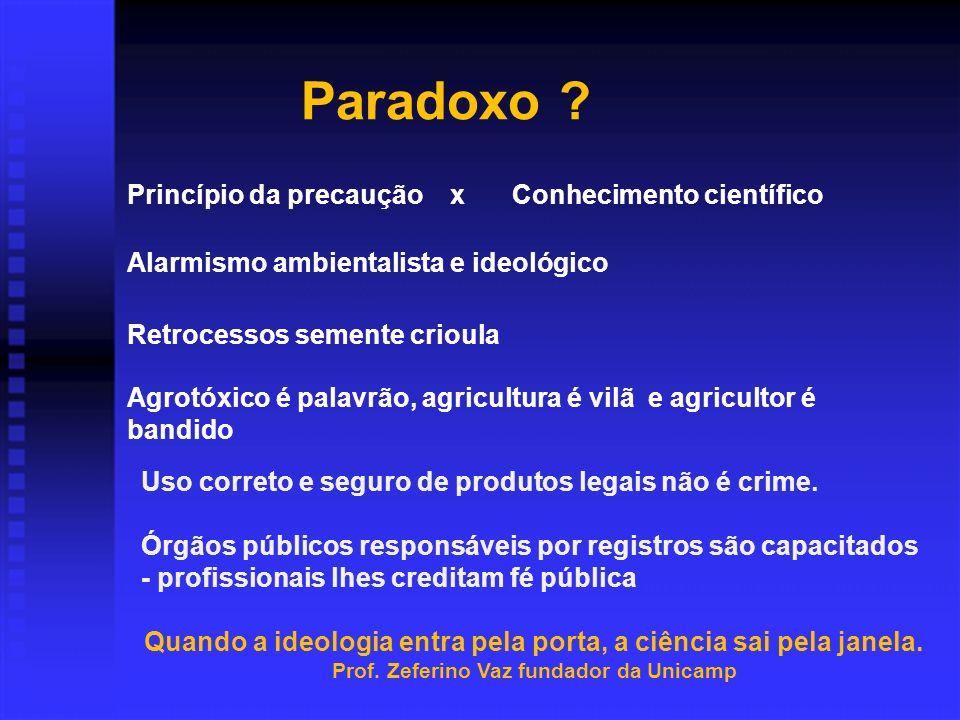 Paradoxo .