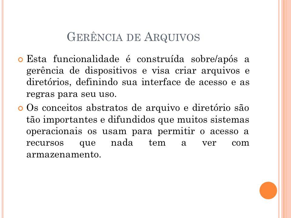 G ERÊNCIA DE P ROTEÇÃO Cria regras e conceitos para que seja protegido os dados dos usúarios.