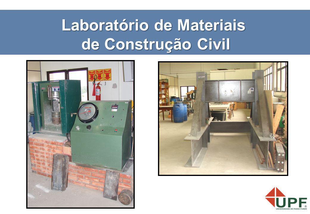 Laboratório de Materiais de Construção Civil de Construção Civil
