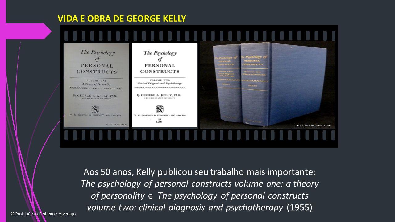 ® Prof. Liércio Pinheiro de Araújo Texto Exemplo Insira seu próprio texto Texto Exemplo Insira seu próprio texto VIDA E OBRA DE GEORGE KELLY Aos 50 an