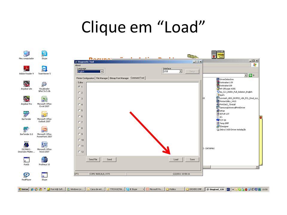 Localizar o arquivo (TTP246MP_68710.NEW) em seguida clique em abrir.