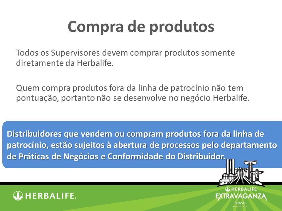 Distribuidores que vendem ou compram produtos fora da linha de patrocínio, estão sujeitos à abertura de processos pelo departamento de Práticas de Negócios e Conformidade do Distribuidor.