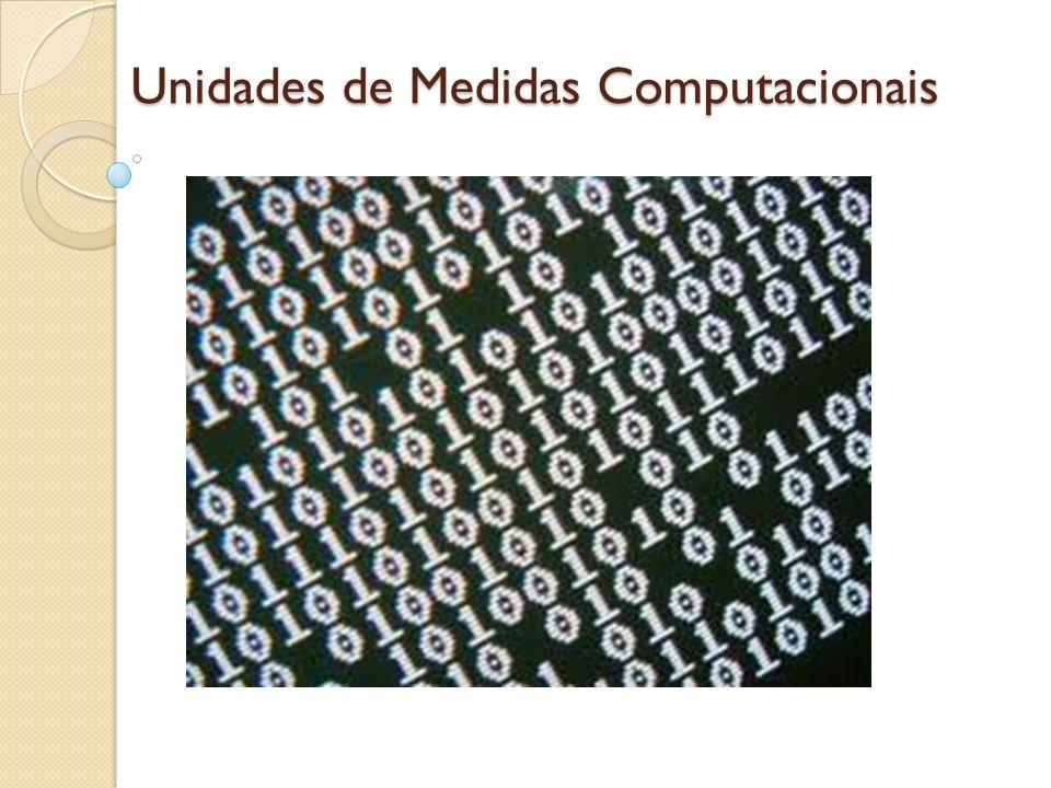 Unidades de Medidas Computacionais
