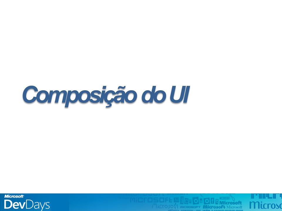 Composição do UI