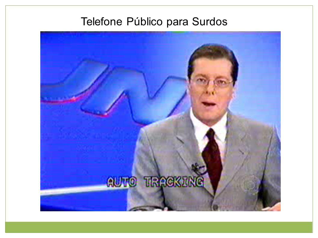 Telefone Público para Surdos