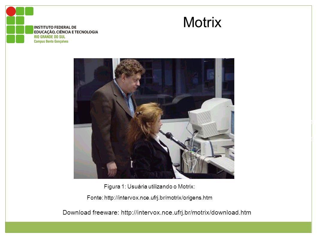Este software transforma comandos de voz em ações no computador. Esta ações são: movimentos do cursor, edição de texto, navegação web e etc. Figura 1: